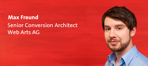 Max Freund - Conversion Architect - Web Arts AG